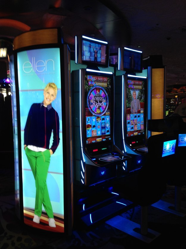 Seeing some of the branded slot machines might be a little disappointing — and feel downright unwholesome.