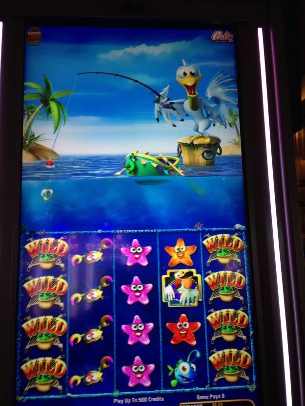 Slot machines are basically iPhone games now.