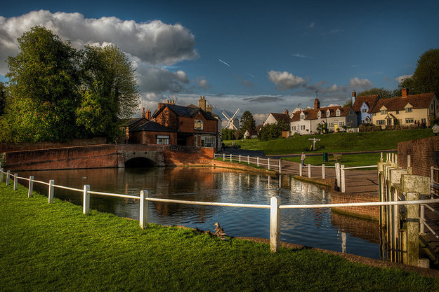 Stop off at a tearoom in Finchingfield, which is often considered the most beautiful village in England