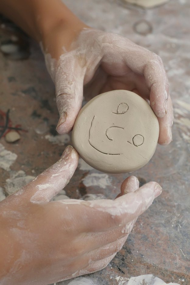 Take a pottery class together.