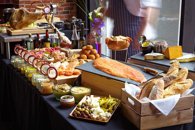 The Biggest Sunday Lunch in Town at Malmaison