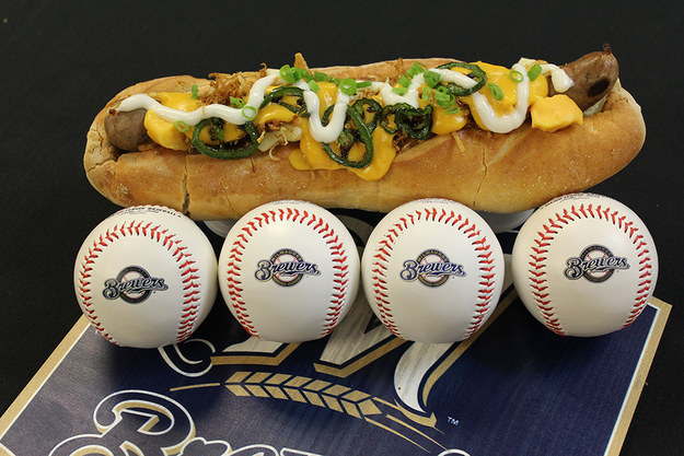 14 Gloriously Disgusting Stadium Foods You Deserve To Eat