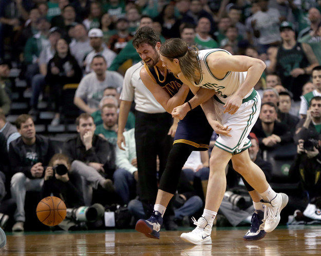 The NBA announced that Kelly Olynyk was suspended for one game following the incident.