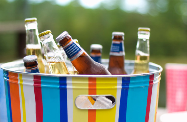 There was a brief window, from 1957-1961, when visitors could get beer with their picnic baskets in the outdoor Holidayland, despite the park's ban on public alcohol.