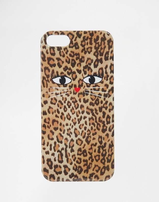 This phone case, that you might have to look twice at to see the whiskers.