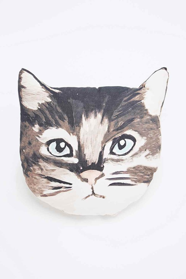 This tasteful cushion will go perfectly with simple bedsheets.