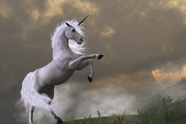 Unicorns incite panic: WHY ARE THERE HORNS RACING THROUGH THE AIR???