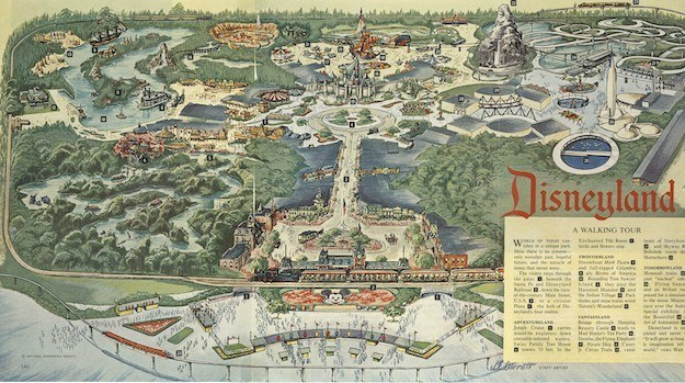 When Disneyland opened, it spanned 160 acres. This means roughly 187 Disneylands could fit in Disney World.