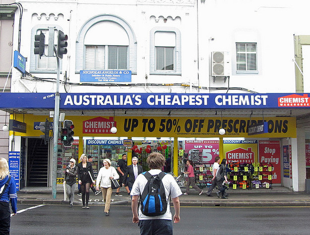 Why are your pharmacies called chemists? And why don't they sell beer?