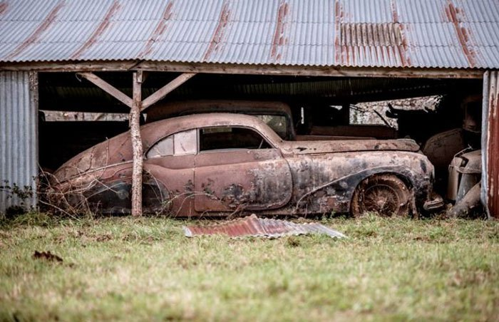 60 Rare Cars Worth Millions Found in French Countryside, Untouched for 50 Years (17)