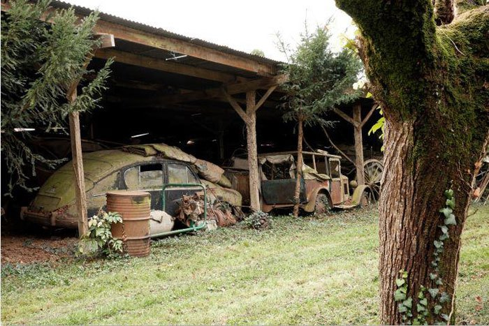 60 Rare Cars Worth Millions Found in French Countryside, Untouched for 50 Years (3)