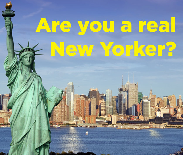 Are You A Real New Yorker