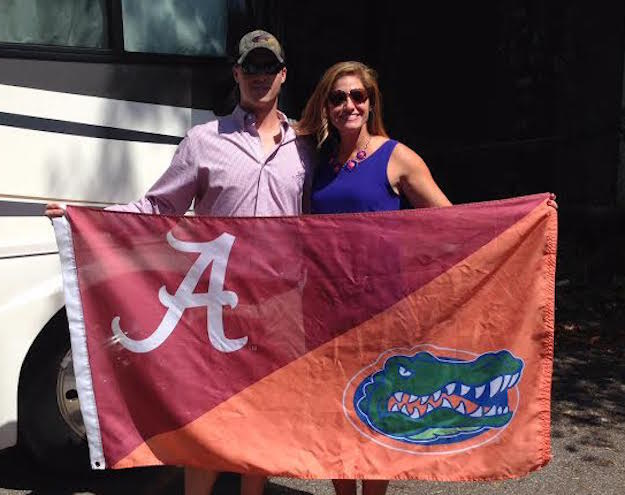 Congrats to the happy couple on their new house divided!