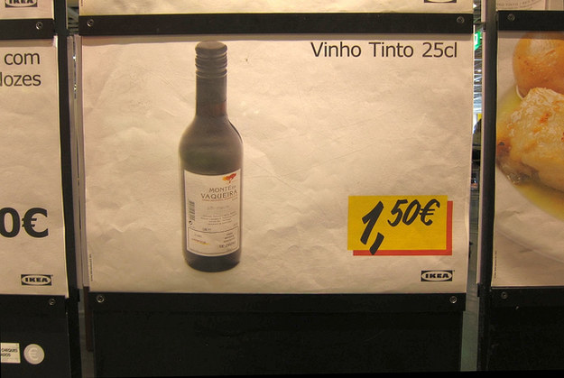 Even Ikea sells wine in Portugal.