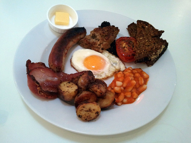 Full Irish breakfasts
