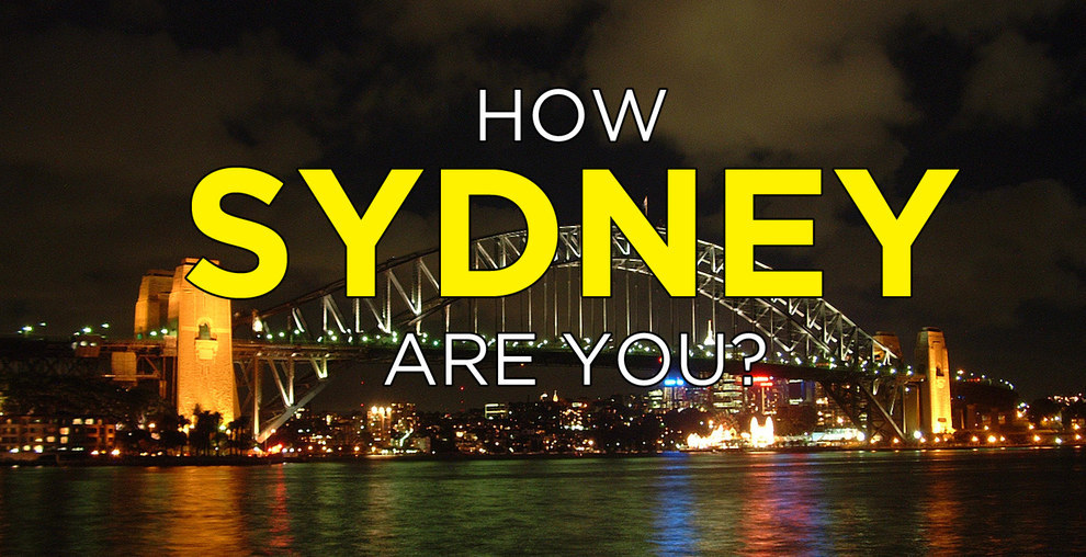 How Sydney Are You