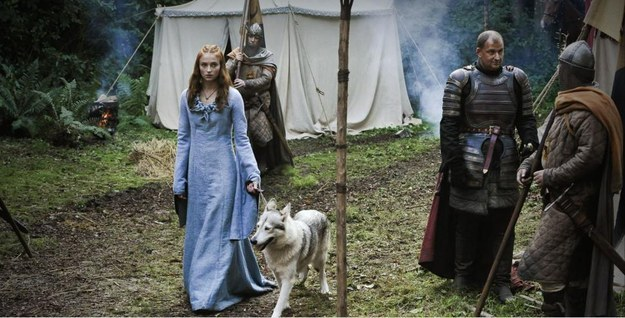 Sophie Turner And Her Direwolf Will Help You Be Happy Again