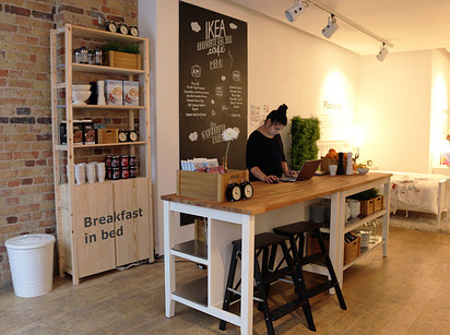 IKEA Have Opened A Cafe In London Where They Serve You Breakfast In Bed