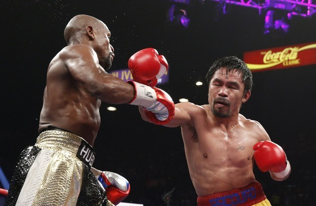 Manny Pacquiao Did Not Disclose His Shoulder Injury Before Fight Against Mayweather