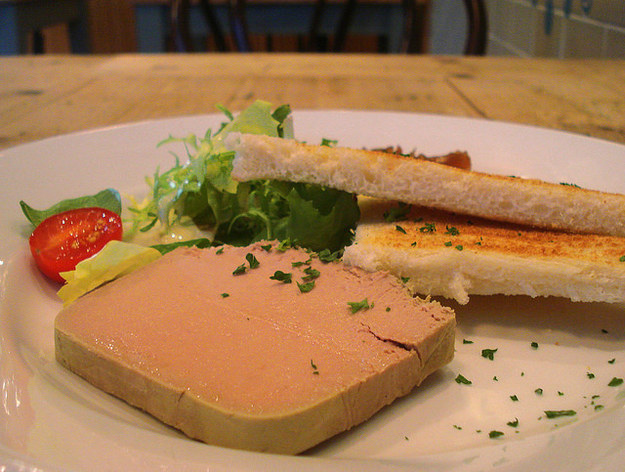 Pâté and toast at The French Café, Balham