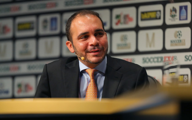 Prince Ali bin Hussein of Jordan is Sepp Blatter's sole competition in the 2015 FIFA presidential election, scheduled to be held May 28th and 29th.
