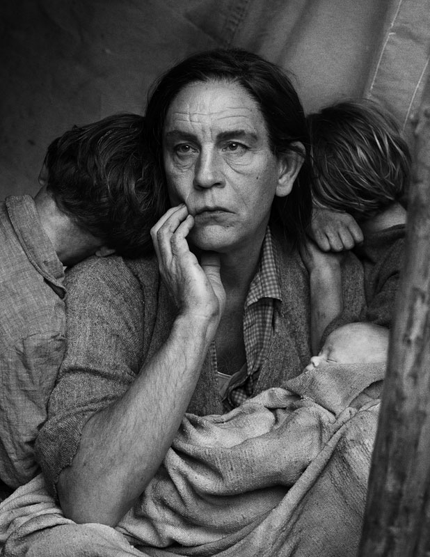 Dorothea Lange   Migrant Mother, Nipomo, California (date), 2014