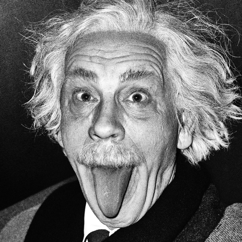 Arthur Sasse   Albert Einstein Sticking Out His Tongue (1951), 2014