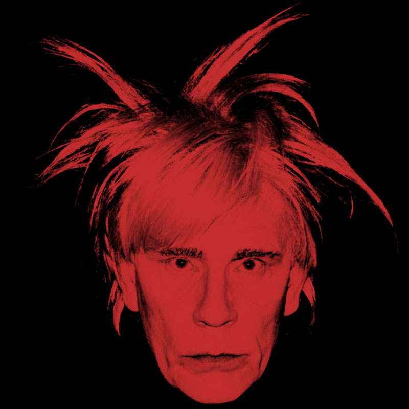 Andy Warhol   Self Portrait (Fright Wig) (1986), 2014