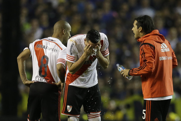 Soccer Fans In Argentina Outraged After Players Maced During Match