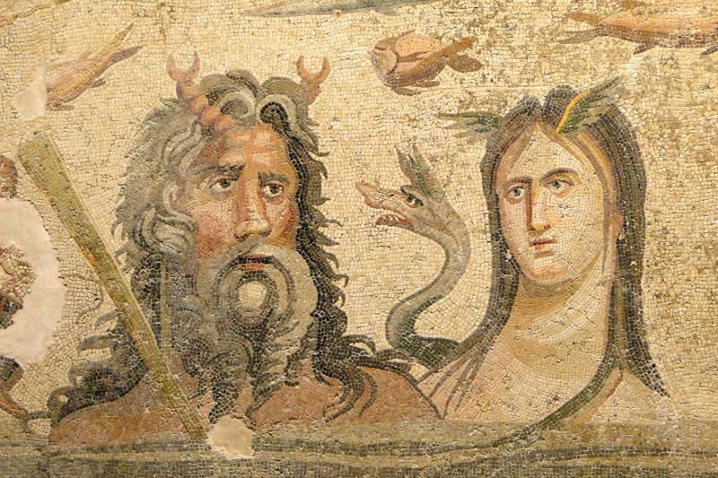 ancient mosaics discovered in ancient greek city of zeugma (5)