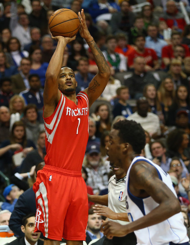 Trevor Ariza was traded from the Knicks to the Magic for Steve Francis. Francis is no longer in the league.
