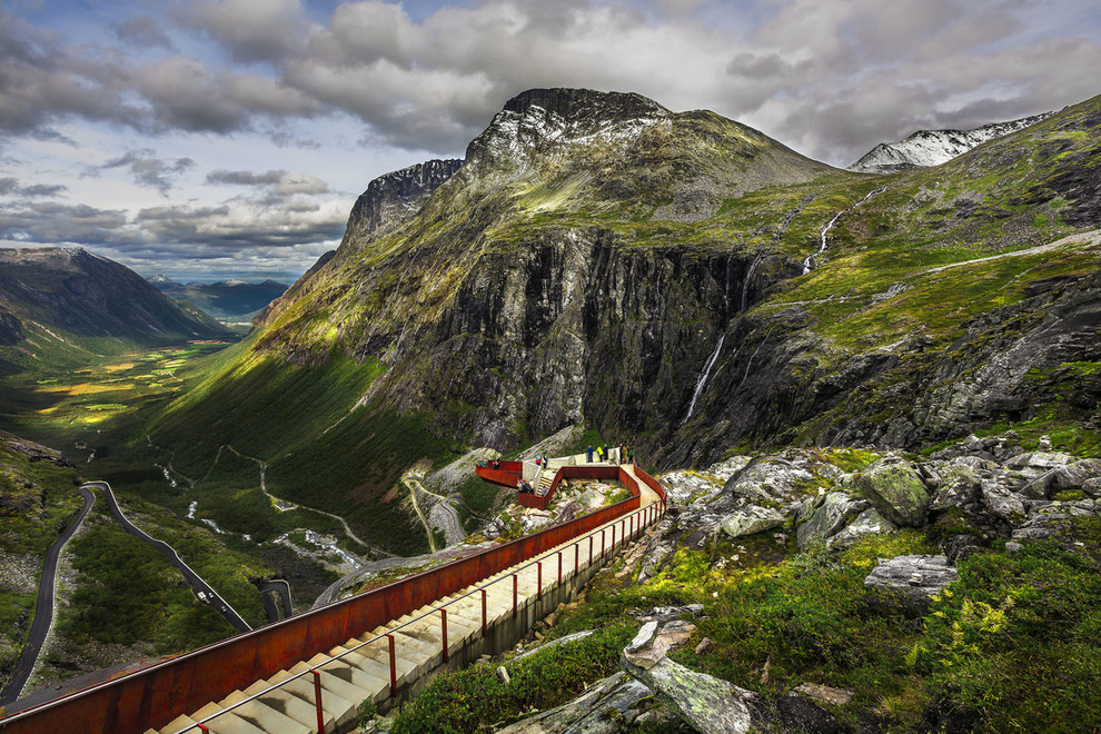 Trollstigen (Troll's Way) viewpoint
