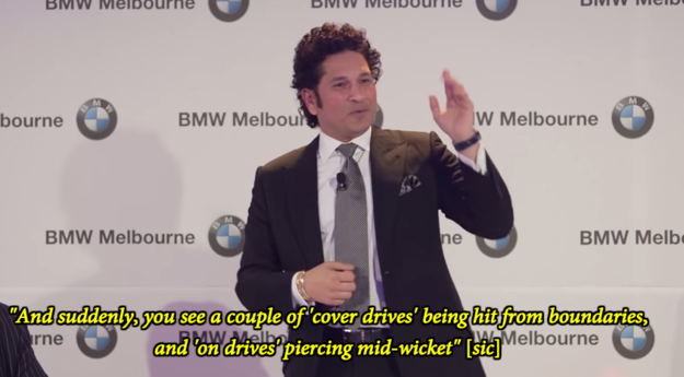 "Watch Sachin Tendulkar Give Proof Of How He's Rightly Called The ""God Of Cricket"""
