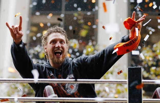 Classic Hunter Pence face.