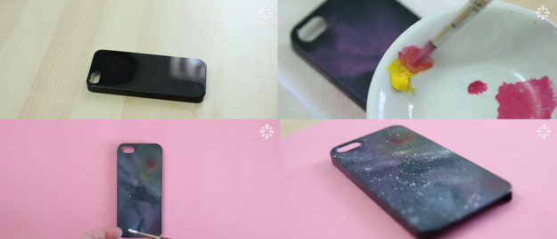 Capture the galaxy in your phone with this REALLY easy paint job.