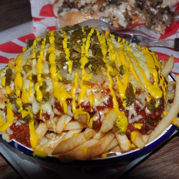 Chili Cheese Fries at MeatLIQUOR