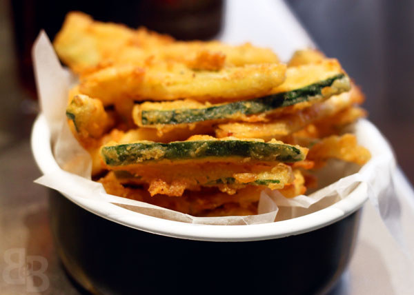 Courgette Fries at Byron Burger