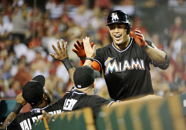 Giancarlo Stanton Got A $325 Million Deal, The Largest In Baseball History