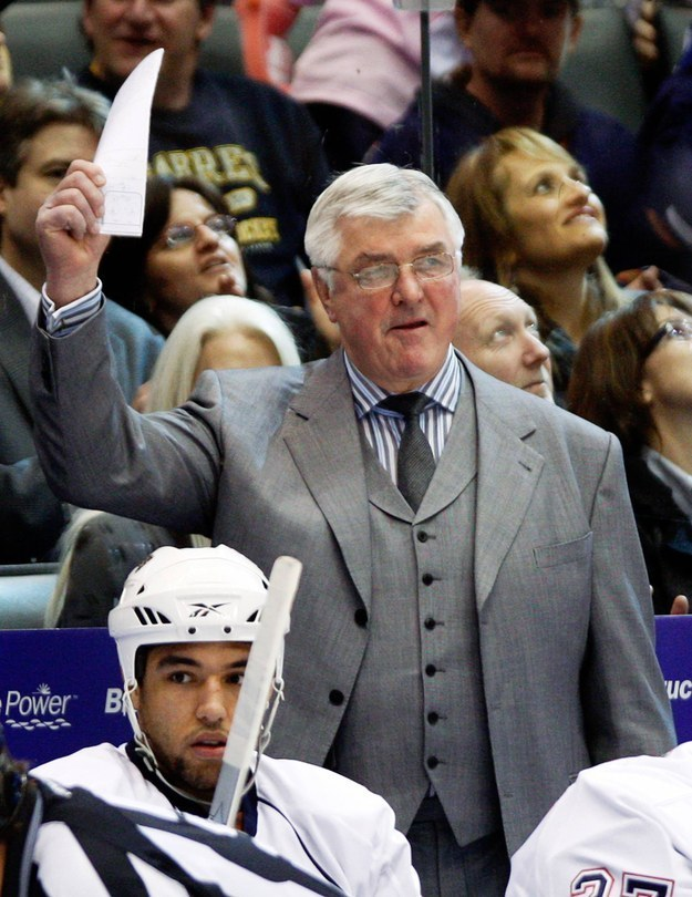 Legendary former ice hockey coach and player Pat Quinn passed away in Vancouver on Sunday, the NHL confirmed.