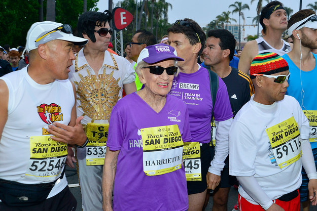 A 92-Year-Old Woman Just Finished A Marathon So You Have No Excuse To Skip The Gym Today – BuzzFeed News
