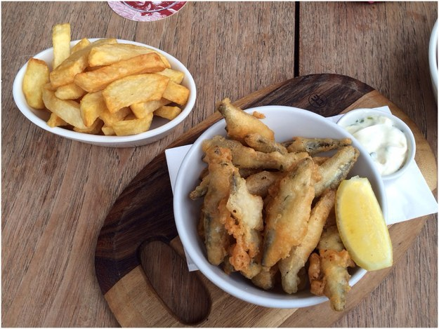 Twice Cooked Chips at The Reliance
