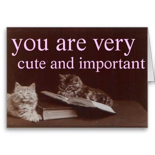 This card you should send yourself.
