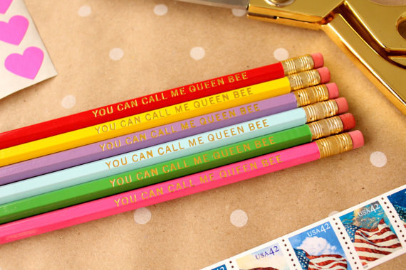 These perfect pencils.