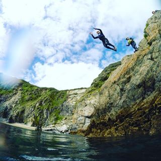 Or try a spot of coasteering.