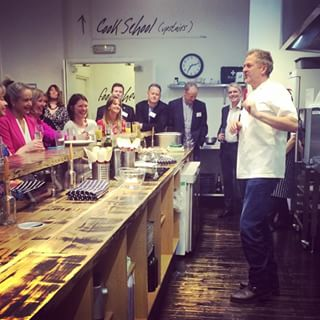 You can take a cookery class with Nick Nairn.